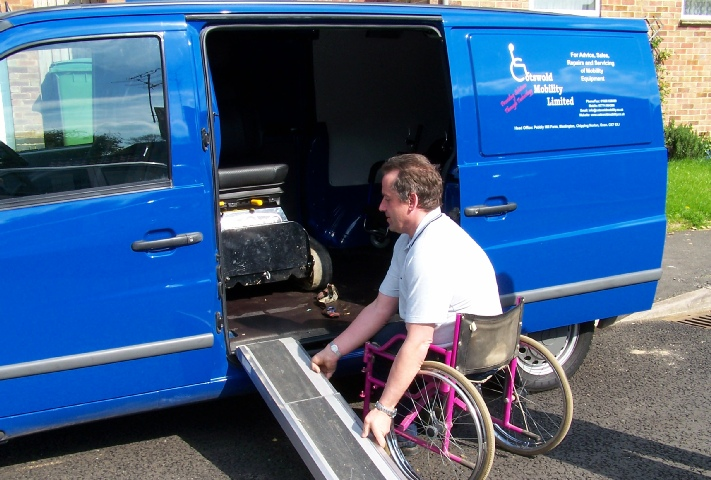 Cotswold Mobility has fully mobile servicing and repare capabilities