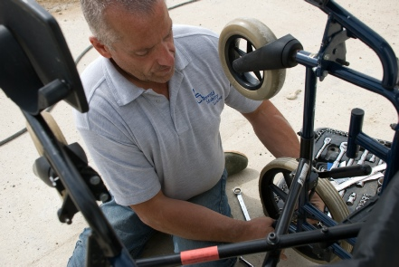 Cotswold Mobility has mobile service and repair capability
