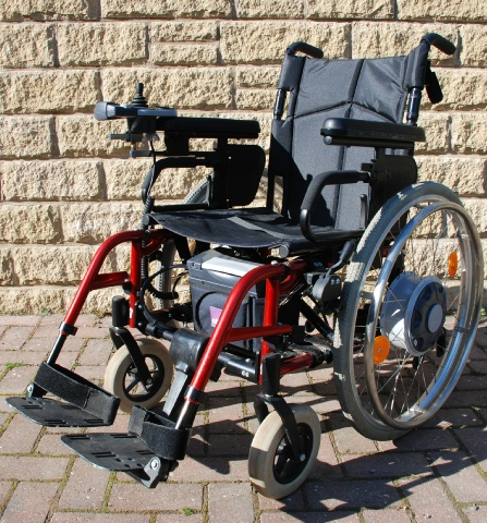 Quickie wheelchair supplied by Cotswold Mobility